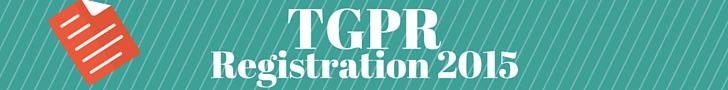 TGPR Registration 2015